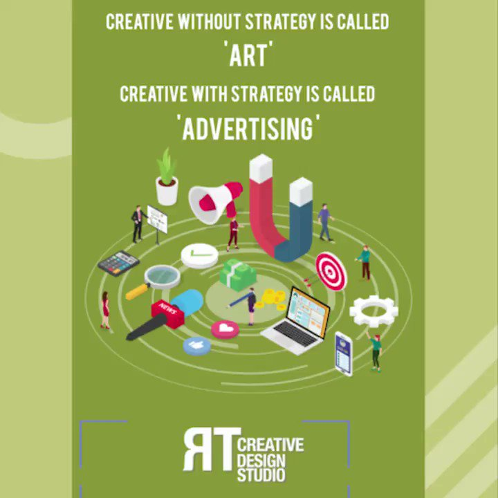 Perfect Strategy + Attention to detail = Great Advertising.  Visit our website  to know more.  . #Agency #Marketing #DigitalMarketing #Advertising #Branding #SocialMedia #SocialMediaMarketing #SEO #WebDesign #VideoProduction #Website #Design #Creativity
