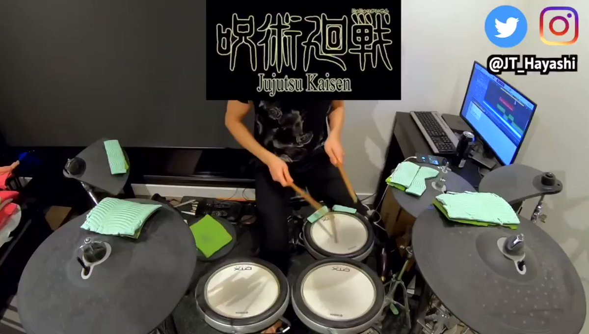 VIVID VICE #Who_ya_Extended フル | #呪術廻戦 OP 2 クール 【叩いてみた】.🎥フルビデオ / Full Video: .#drum #Anime #cover #叩いてみた #アニメ #Yamahadrum #superiordrummer #logicprox #ドラム #jujutsukaisen #jujutsukaisenanime #jujutsukaisenedit #anime