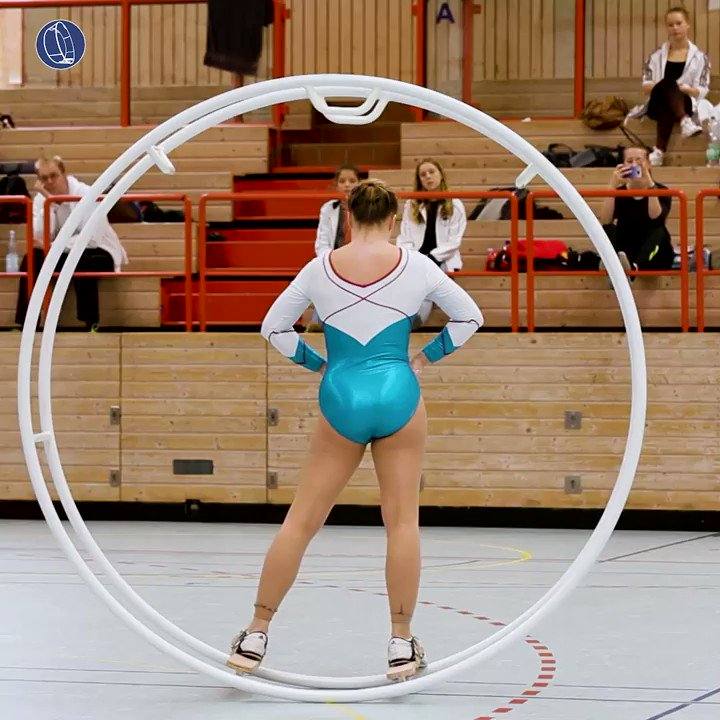 South German Championships 2017 Mira Lundius Senn Video on YouTube:  #gymwheel #rhoenrad #sport #sports #turnen #gymtime
