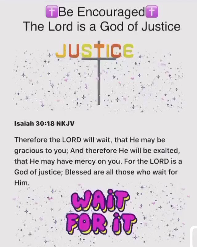 #SaturdayMorning #SaturdayMotivation #MotivationalQuotes #InspirationalQuotes #Christian #IQRTG #Encouragement #VerseOfTheDay #QuoteOfTheDay #Quotes  . The Lord is a God of justice…