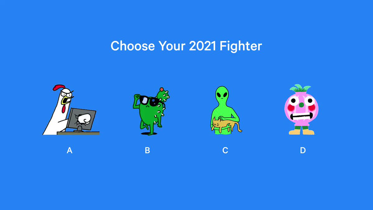 Who're you picking? Choose wisely 🥊 #sayitwithstickers