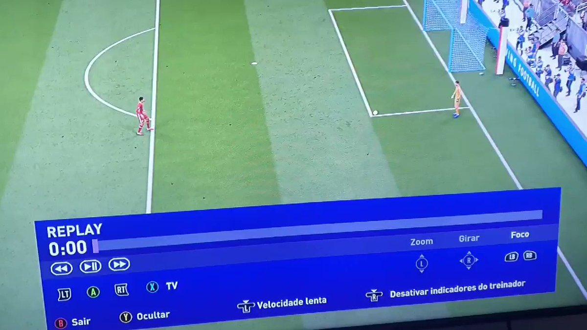 Já foi tomar no cu hoje, @EAFIFABR ? #FIFA21 #easports  @EAFIFABR  @EA  @EASPORTSFIFA   Bizarrice x + 2