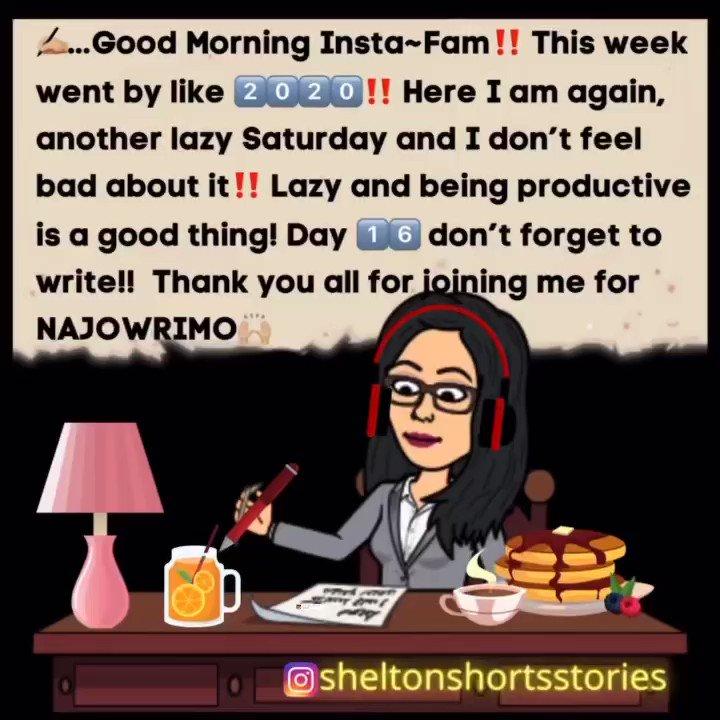 Day 1️⃣6️⃣✍🏼 @NaJoWriMo @NaNoWriMo  #SaturdayMorning #poets  #authors #writerscommunity  #artist #twitterfam #ameriting #amjournaling