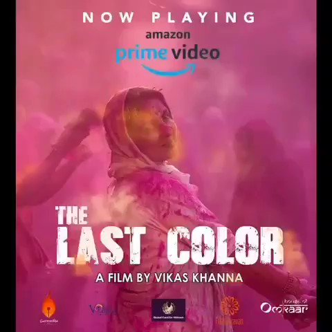 Thoroughly relished watching #TheLastColor on @PrimeVideoIN. Chef @TheVikasKhanna has made a truly impressive debut as the director, and I'm eager to watch the upcoming celluloid cuisine offerings from his cinematic kitchen.