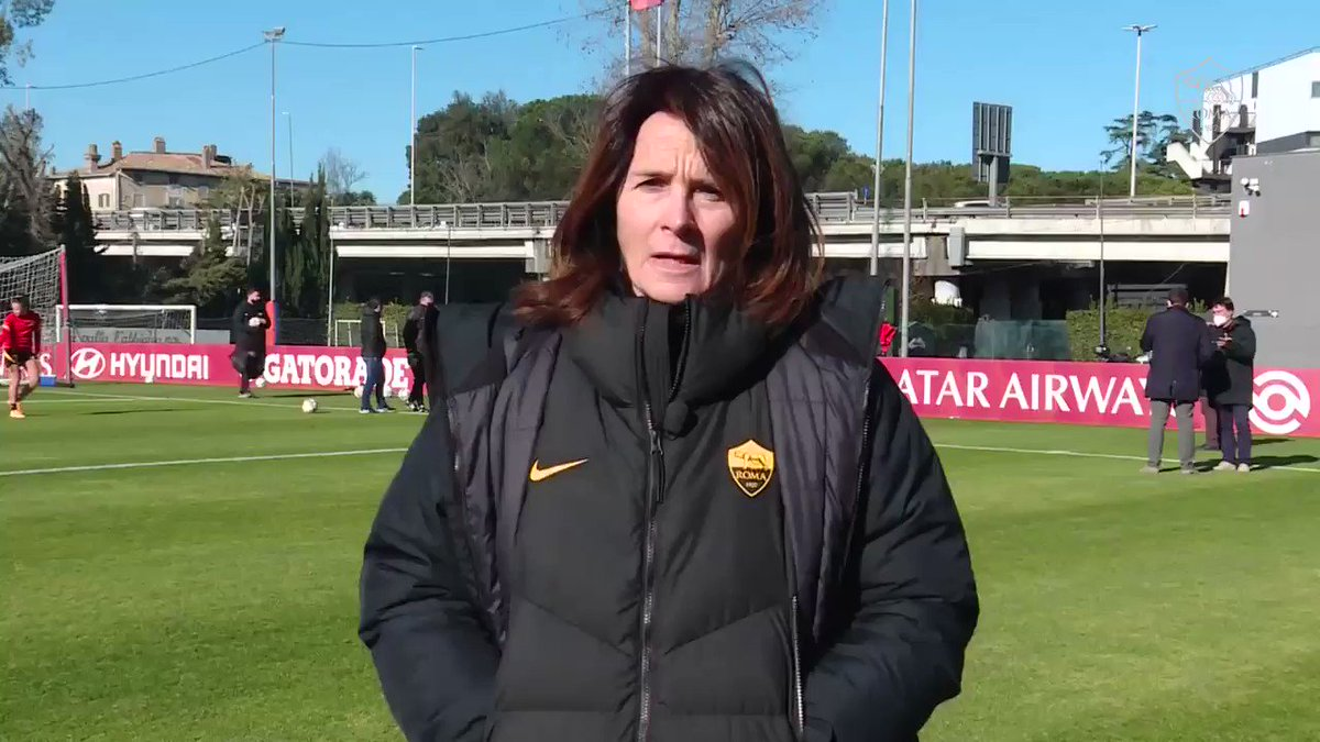 Coach Betty Bavagnoli gives her thoughts ahead of Sunday's game against Napoli... 💬   #ASRomaWomen #ASRoma