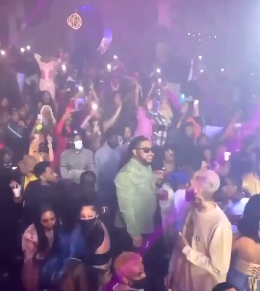 Bow Wow performing in Houston last night