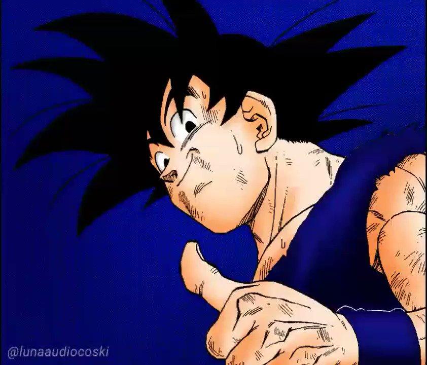 Coloreado de Son Goku.  #DragonBallZ #DBZ #DragonBall #DB #SonGoku