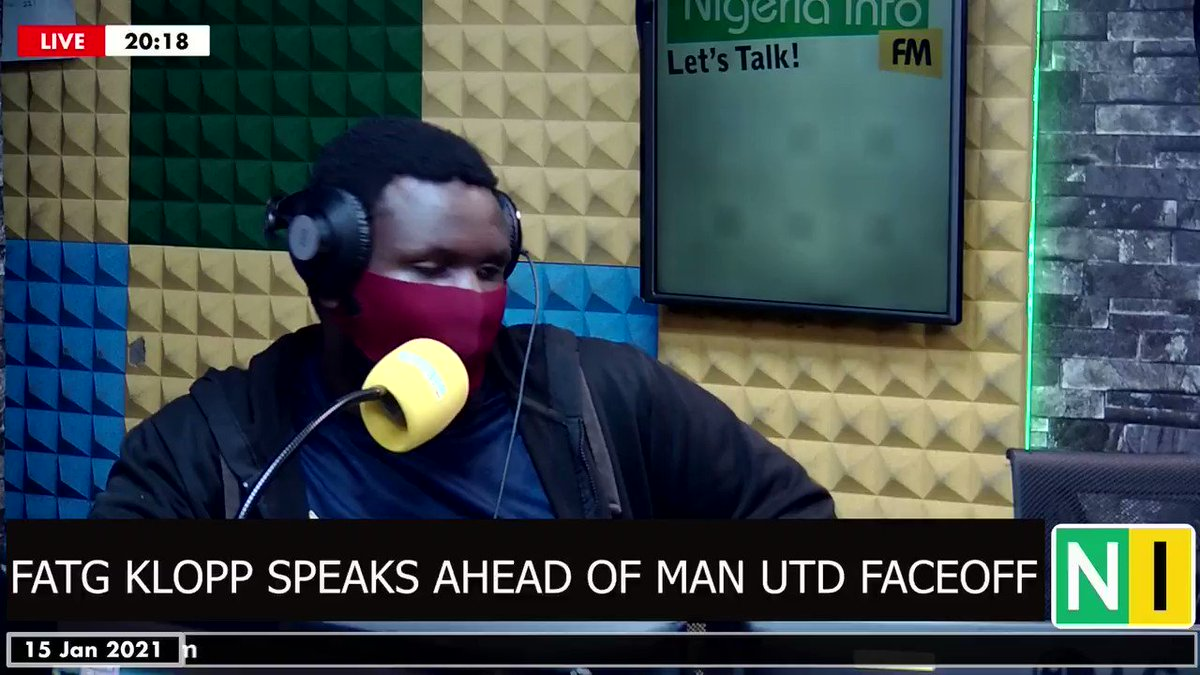 Can Liverpool stop Man Utd from remaining at the top of the #PL tomorrow?   FATG's Jurgen Klopp (@DidiBiggs) reveals the 'big plan' ahead of Sunday's clash. #LIVMUN 🤣  Do you think his plan is good enough? 🤔😆  #LetsTalk #FATGlive