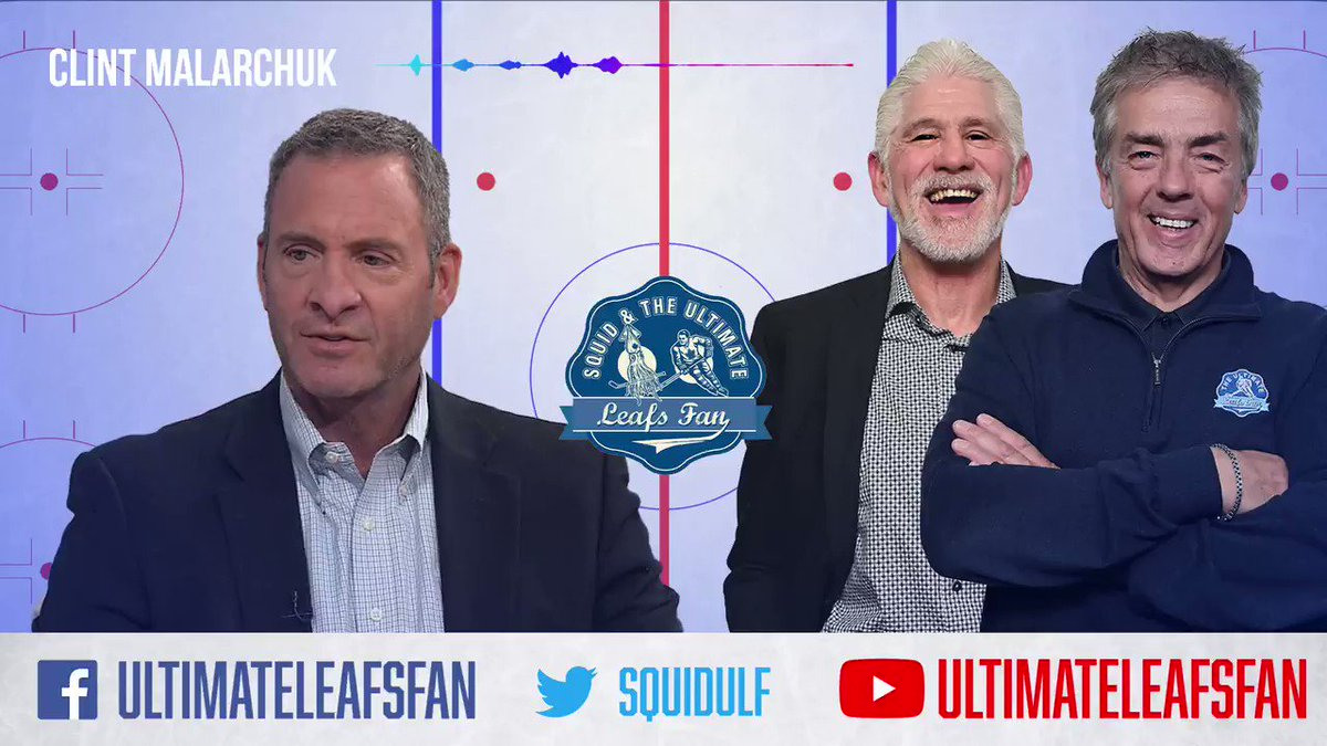 """I didn't want my mom to see me die on TV.""  @cmalarchuk on the horrific neck injury he suffered playing for the @BuffaloSabres and why he was so determined to get off the ice after it happened.  #LeafsForever #LetsGoBuffalo #NHL #SquidULF"