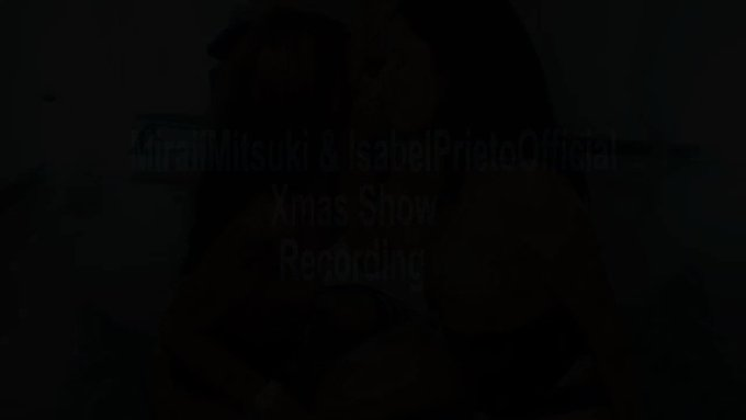 Xmas show with Mirai Mitsuki 2 by IsabelPrietoOfficial @manyvids https://t.co/m6ydTjYyKQ https://t.c