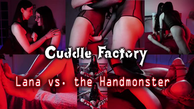 New Clip!!!!  @LanaWntr and I intimately touch and rub each another with hands and FEETS!!. but then