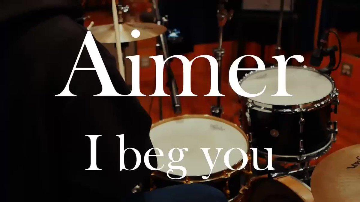 Aimer / I beg you🥁叩いてみた🥁萌え袖パーカーで😝#aimer #drums #ドラム