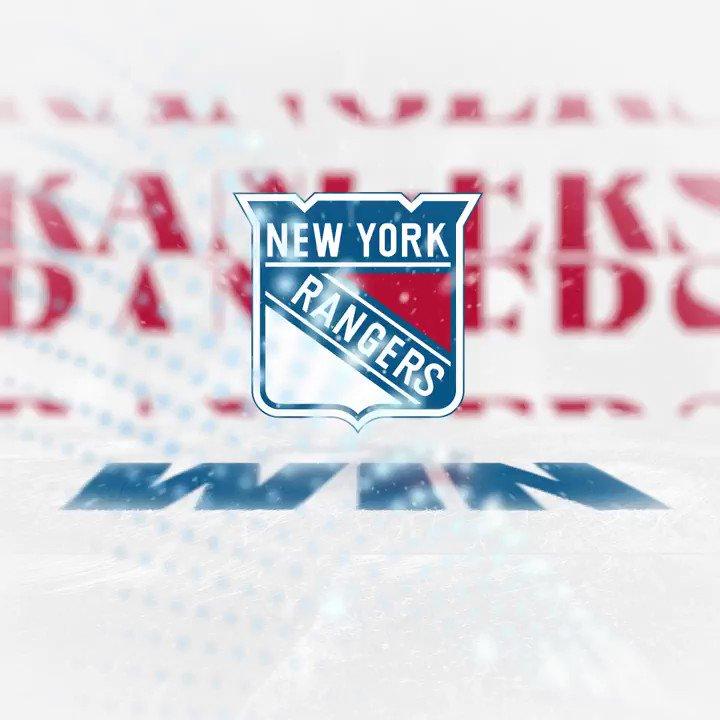 Rangers get revenge against Islanders.   5-0 the final from MSG.   #NYR #Isles