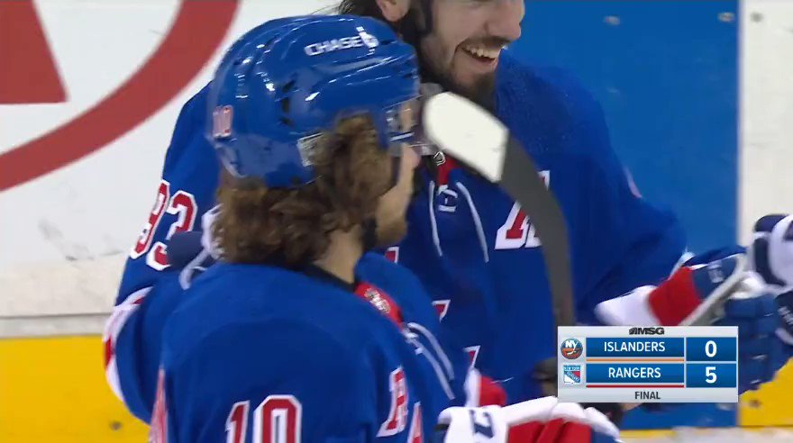 What a game for Panarin with 2 Goals and a Shutout!!! #NYR