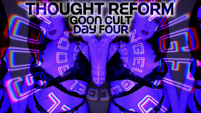 Goon Cult Thought Reform : Day 4 .. You can still quit, right? https://t.co/YcdTWgsSY0 https://t.co/