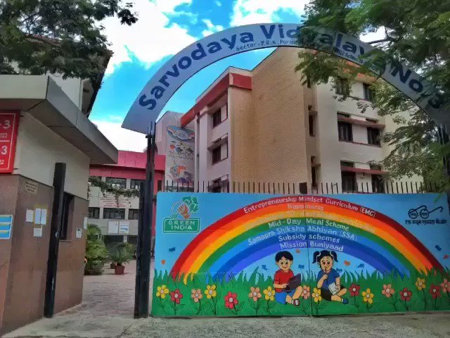 Completed 10 years with #delhigovtschools today.  This journey has been amazing for a specific reason that a phenomenal growth which I experienced in my career got paralleled with incredible growth in the public education system in Delhi. Have a look at my school👇