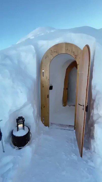 "It's called a ""snort"". ❄ ☃ #winter #snow #snort 📽 via"