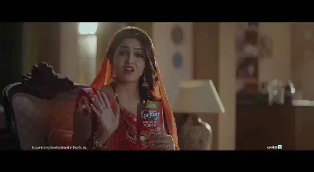 हमरा संडे भी आएगा ख्याल कुछ चटपटा है😍😘❤️ @ShubhangiAtre Mam 💓 #tvadvertising #kurkure #actresslove #beautiful #beautywithcutesmile😊 #iloveyou