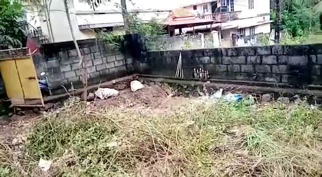 My small plot of land in Trivandrum.   Should I thank the neighbors and 'villagers' for the mess? 😢😭 Every 2-3 years it becomes like this and I have to spend thousands to get it cleaned up. I had walled the plot and gated it. This waste dumping is inspite of that.