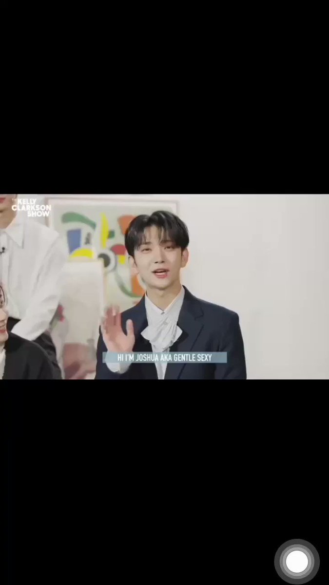 Mingyu's expression after hearing Joshua, really cute Gemess🐶😙  #KellyClarksonShow #세븐틴 #MINGYU #JOSHUA #SEVENTEEN