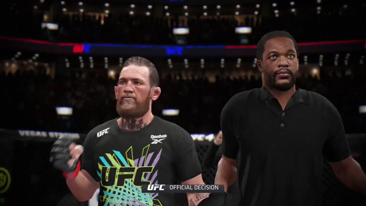 Wtf is this 😂 #ufc4 #UFC257 @TheNotoriousMMA @ufc @EdParker02
