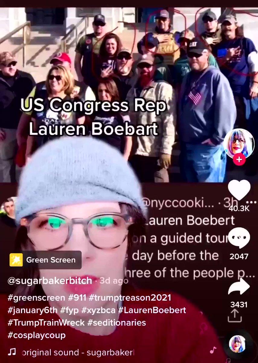 GOP Rep. Lauren Boebert is going to PRISON.  #CapitolRiot  04