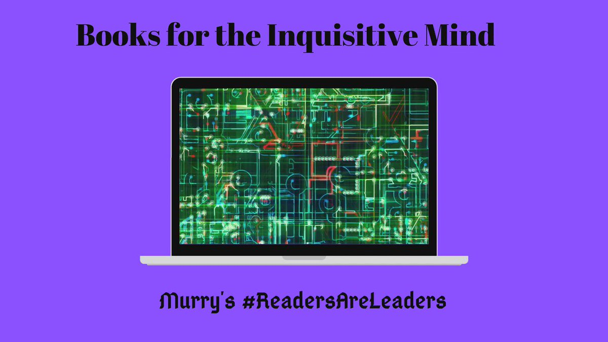 Books for the Inquisitive Mind   #BookRecommendations, #BookReviews:   Visit, View, Subscribe, Hit the Bell.      Come join us.