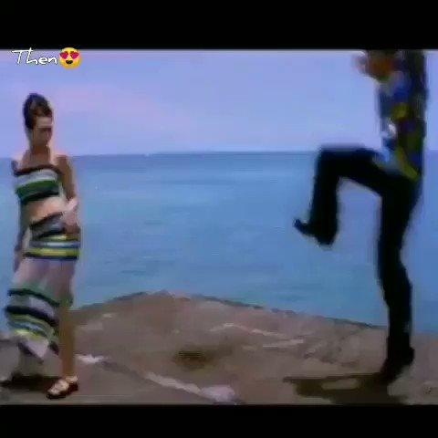 THEN  &                                NOW   Still favorite....  Aaahhh...His Dance Moves  Chemistry between @BeingSalmanKhan  & #KarishmaKapoor 🔥 #WeekendKaVaarWithSalman  #BB14  #SalmanKhan