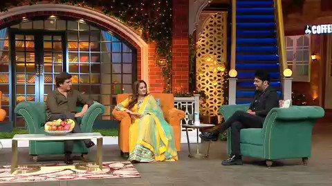 Tonight in #tkss @RajBabbarMP ji #jayaparda ji @GurpreetGhuggi paji @ihanaofficial #kcbokadia  #thekapilsharmashow 🤗🙏