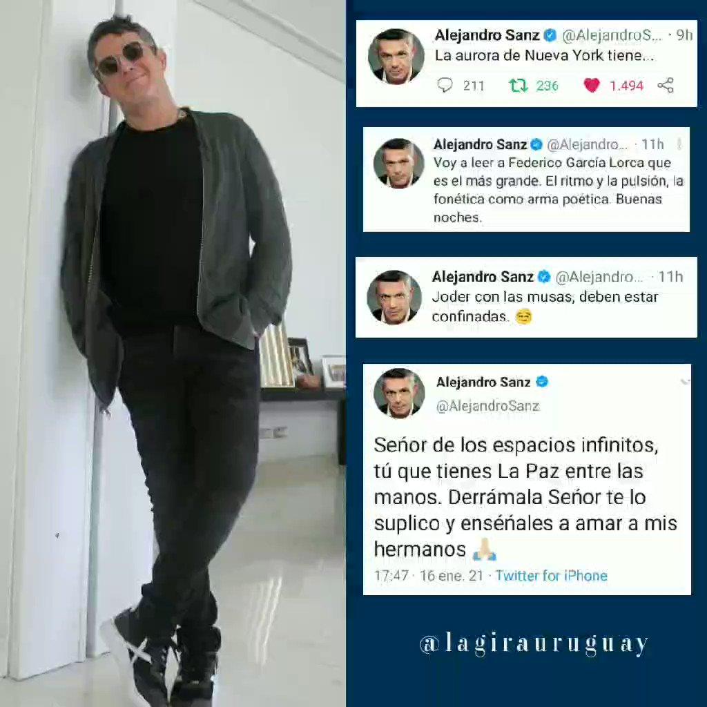 #SomosLoQueSoñamos  #ElMundoFueraLaPelícula #LaGiraUruguay🇺🇾 #elveranoquevivimos  #elmundofuera  #lagira2021   #UruguayDeSanz🇺🇾 #UnBesoEnMadrid #LiveStreamASanz  @AlejandroSanz