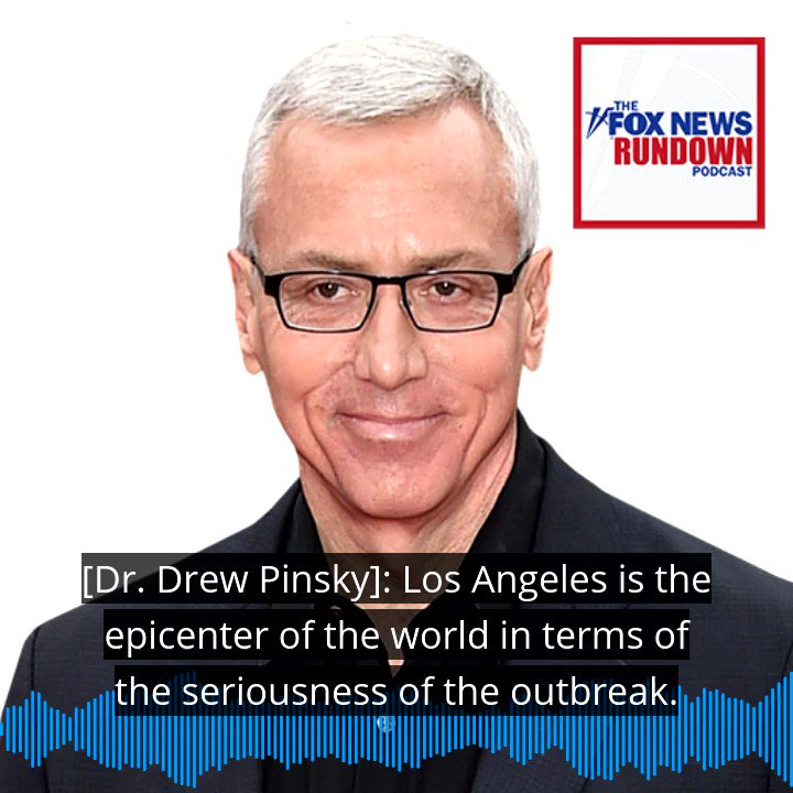 Don't miss our extended, candid interview with @drdrew where he discusses his battle with the coronavirus and his critics.   Check out The #FOXNEWSRundown Extra: