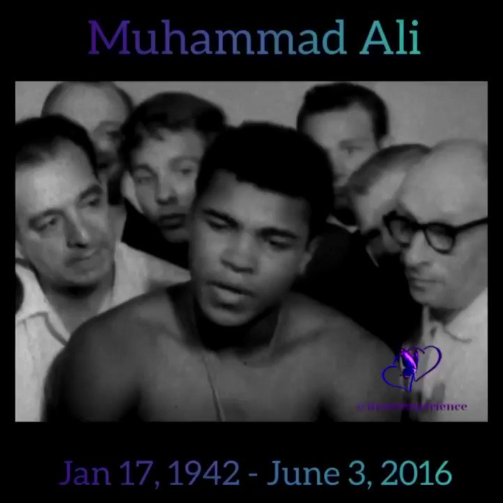 Remembering the #Legend #King #MuhammedAli #Confidence #Swag #Champ #ForTheCulture #BlackCulture #BlackHistory #BlackExcellence #BlackEntertainment  #Love #Grow #Transform #Inspire #Follow #InOurExperience #Blessings