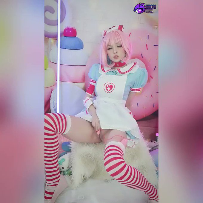 My favorite toy goes brrr in my new MV Crush vid!   Full Riamu Yumemi cosplay action can be found in