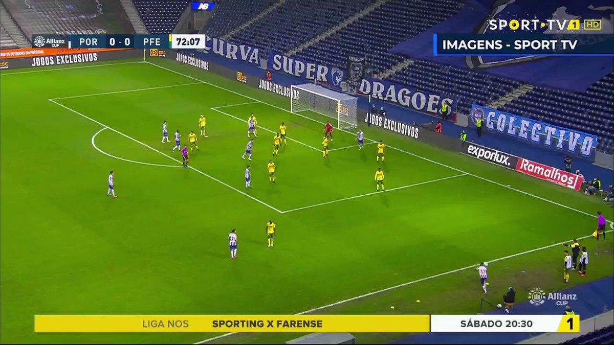 💪 Recorda os nossos golos na vitória frente ao Paços de Ferreira 🔵⚪ ⚽ Amanhã arranca a Final 4 da Taça da Liga  #FCPorto #SCPFCP #TaçadaLiga #AllianzCup
