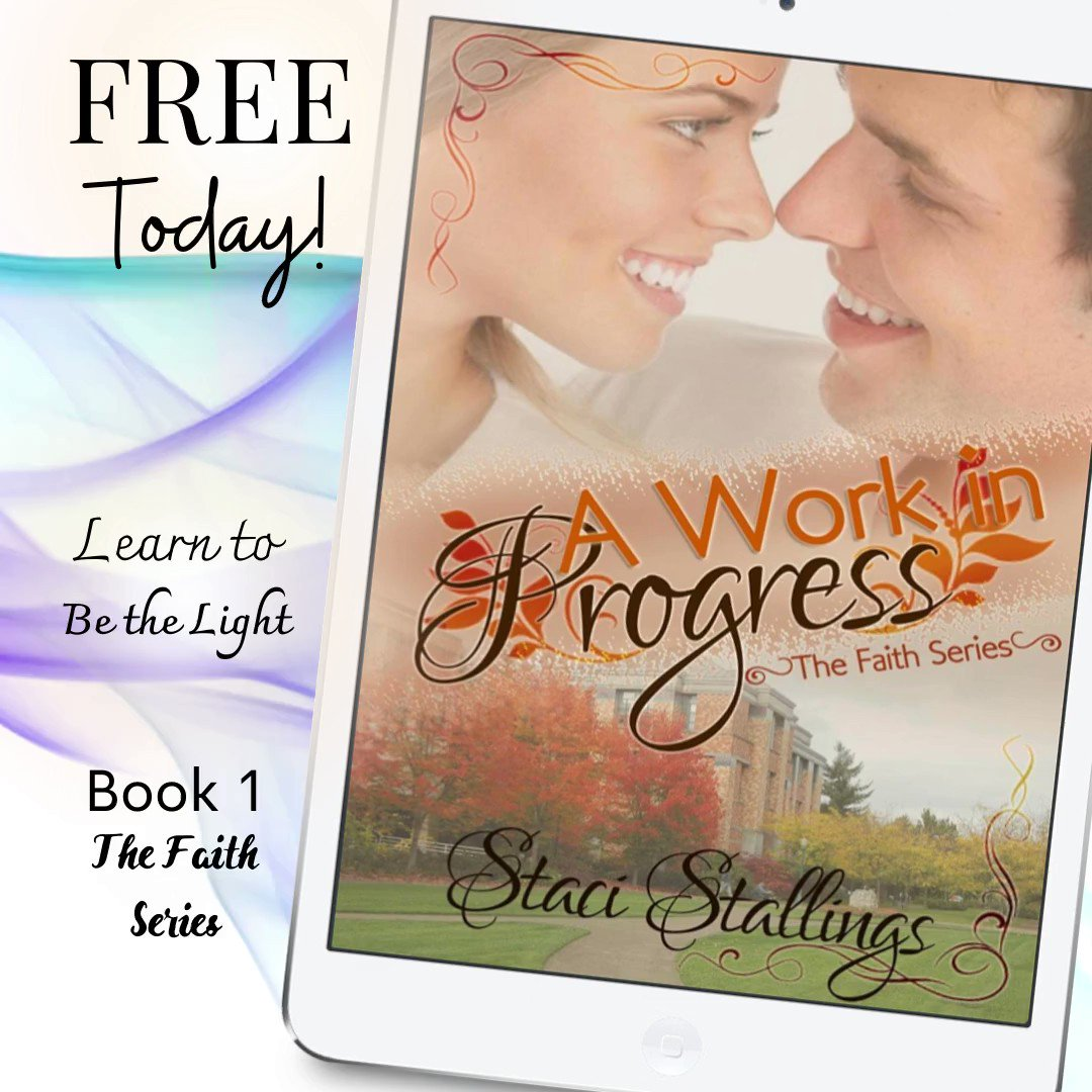 """#FREE  """"I read this book in one day. I cried through a good portion of it, the imagery hitting a little too close to home for comfort. That is how Staci writes...."""" A WORK IN PROGRESS #bestseller #insecurities #hope #faith #recommended #booklover"""