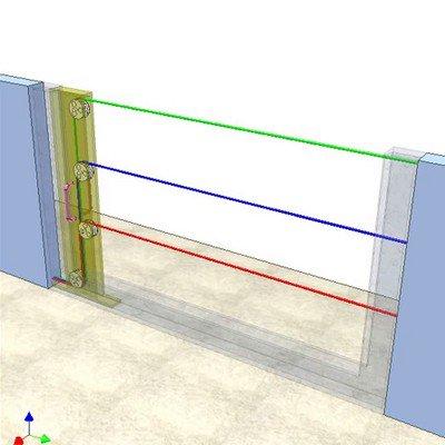 Wire Door for Fences