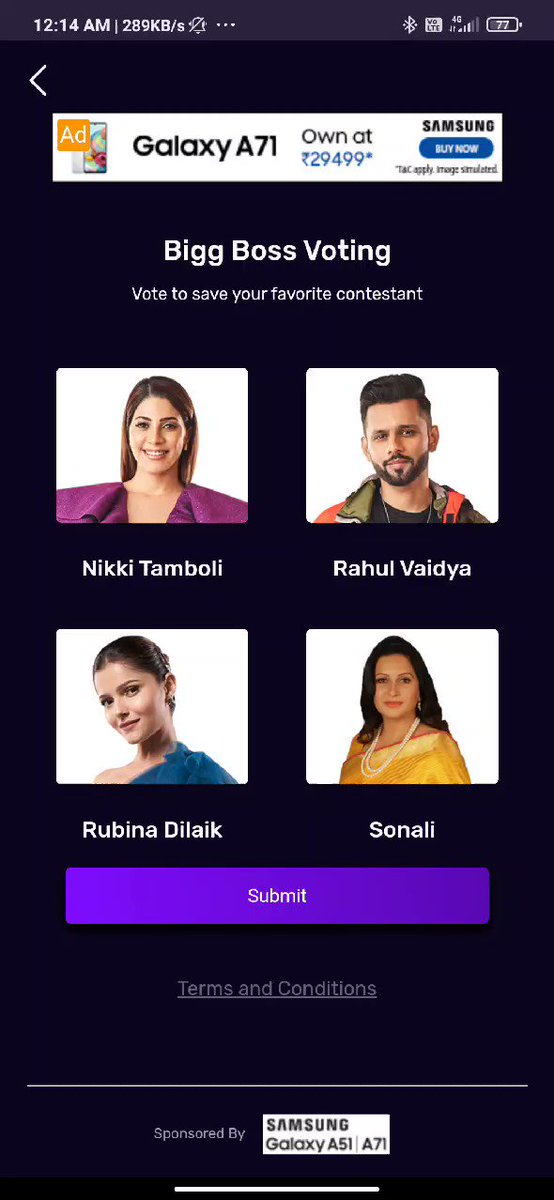 VOTE FOR RAHUL VAIDYA @rahulvaidyarkv   राहुल कृष्णा वैद्य 🚩  #RahulVaidya #RKV #RKVians #BB14 #share #vote #vote2020  RTs = ? Take SS & Quote tweet