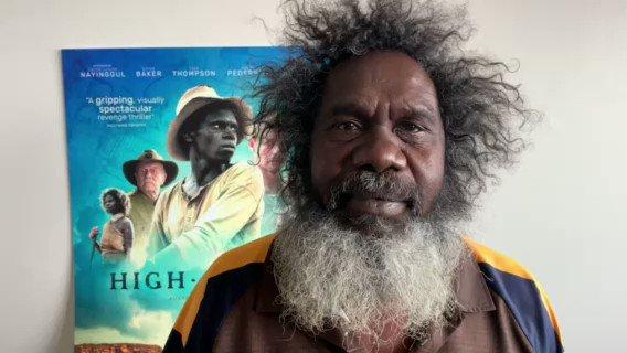 """Replying to @HighGroundFilm: """"I'm very, very proud of #HighGroundFilm."""" - Witiyana Marika. See it in cinemas January 28."""