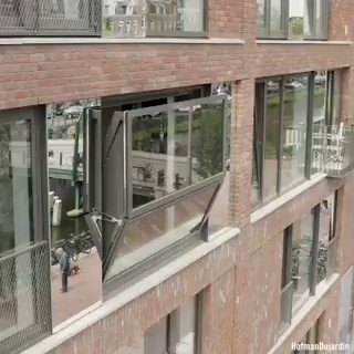 This is the #BloomFrame #window that turns from viewing frame to outdoor living space in just seconds.   #Innovation #Tech #Technology #TechNews #engineering #ScienceAndTechnology #Science&Technology