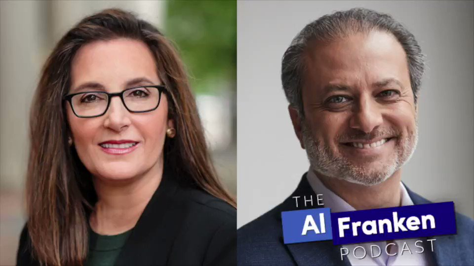 .@JoyceWhiteVance & @PreetBharara enjoy kicking around the legal problems of Donald Trump, the Rioters, Ted Cruz, and Josh Hawley on The Al Franken Podcast.   Subscribe on Apple Podcasts: