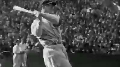 Lou Gehrig talks about who he thinks is the ultimate baseball player. Pretty modest he didn't name himself