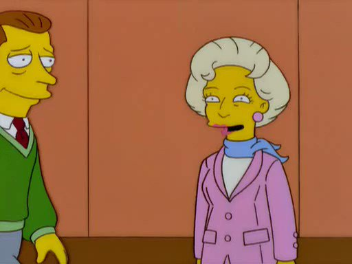 "Happy 99th birthday to @BettyMWhite, who guest-starred as herself in Season 11's ""Missionary Impossible"" in 2000. #TheSimpsons"