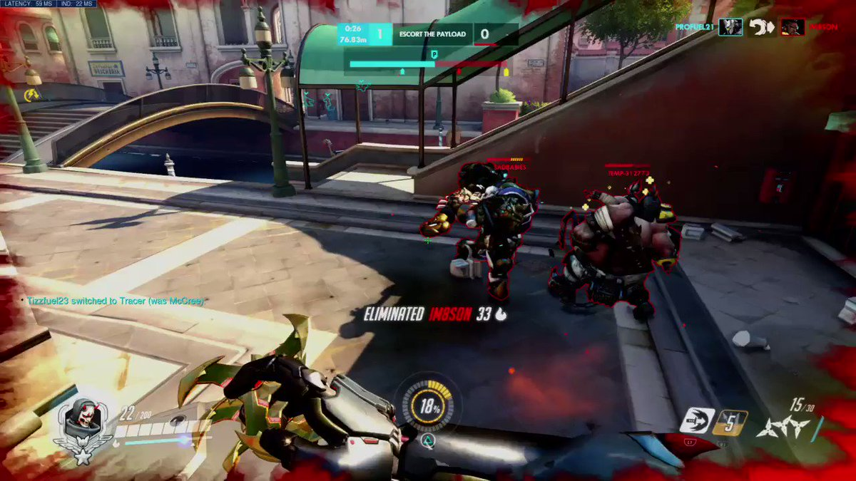Image for the Tweet beginning: Hit this crazy tripple kill
