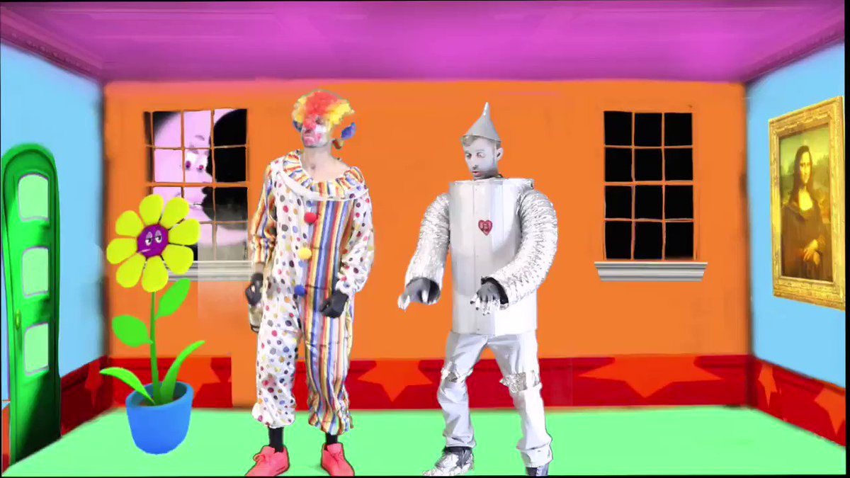 "My best friend Ryan wanted to make a song and music video as his character ""Flunky the clown"". So I wrote the music and lyrics, directed and edited the video and came up with this! (I'm the Tinman)"