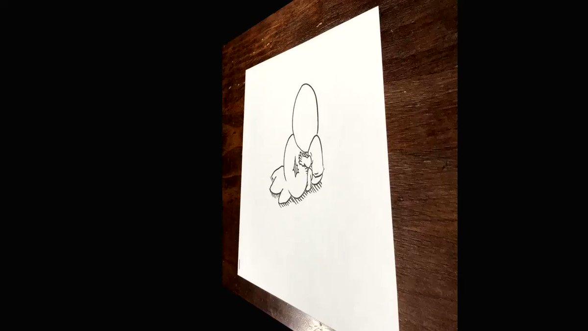 362枚の紙を使って炭治郎を作りました#パラデル漫画