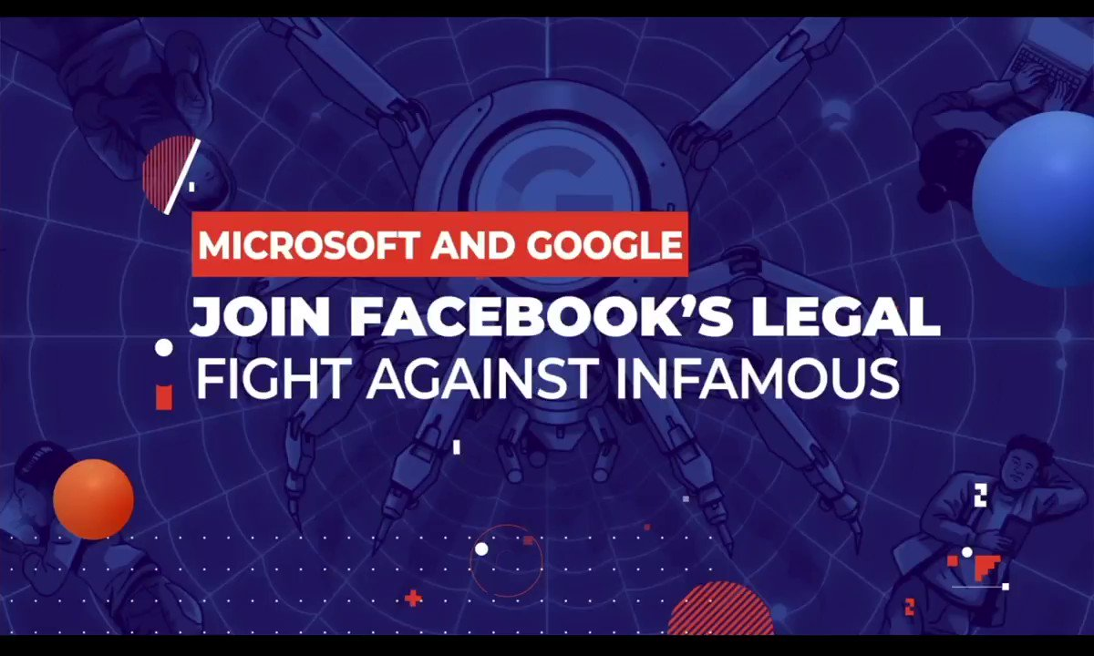 Image for the Tweet beginning: Microsoft and Google Join Facebook's