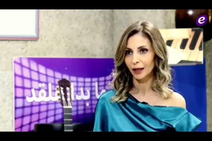 """الإعلامية #مارييت_يونس : جمهور #اليسا لا يستهان فيه و تختار """"إليسا"""" كَ فنّ و تاريخ فنّي .. @elissakh ❤"""