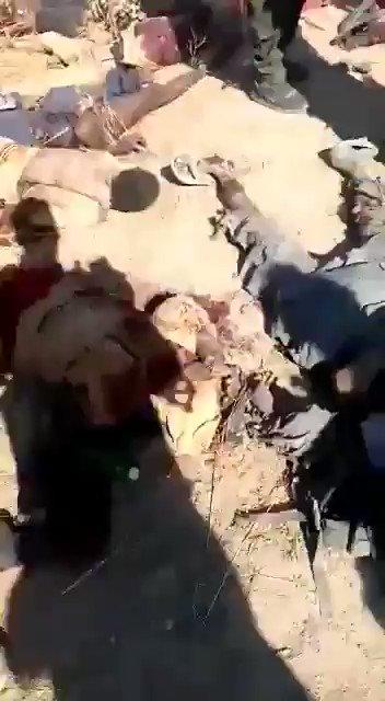 #NewsFlash: Troops of the Nigerian Army celebrate as Helicopter Gunship attack takes out Boko Haram insurgents preparing to attack Marte in Borno State @DefenceInfoNG @HQNigerianArmy @BornoGovt @ProfZulum @MBuhari @ProfOsinbajo @NigeriaGov