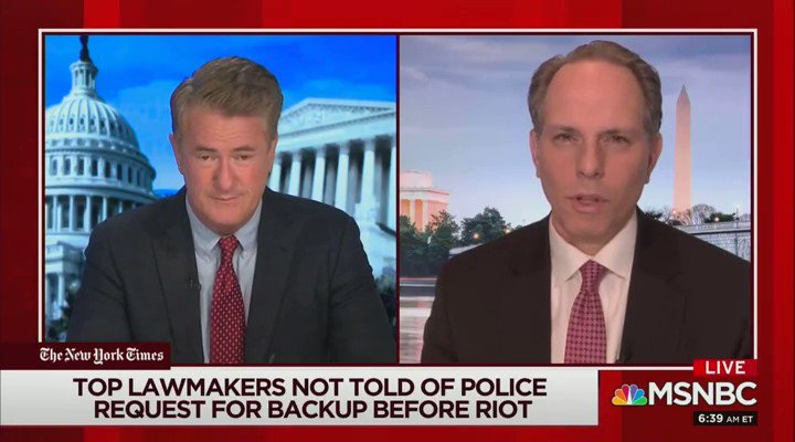 """NBC's Jeremy Bash on the Capitol Hill rioters: """"We're going to have to reset our entire intelligence approach … We're going to have to look at greater surveillance of them, the FBI is going to have to run confidential sources"""""""