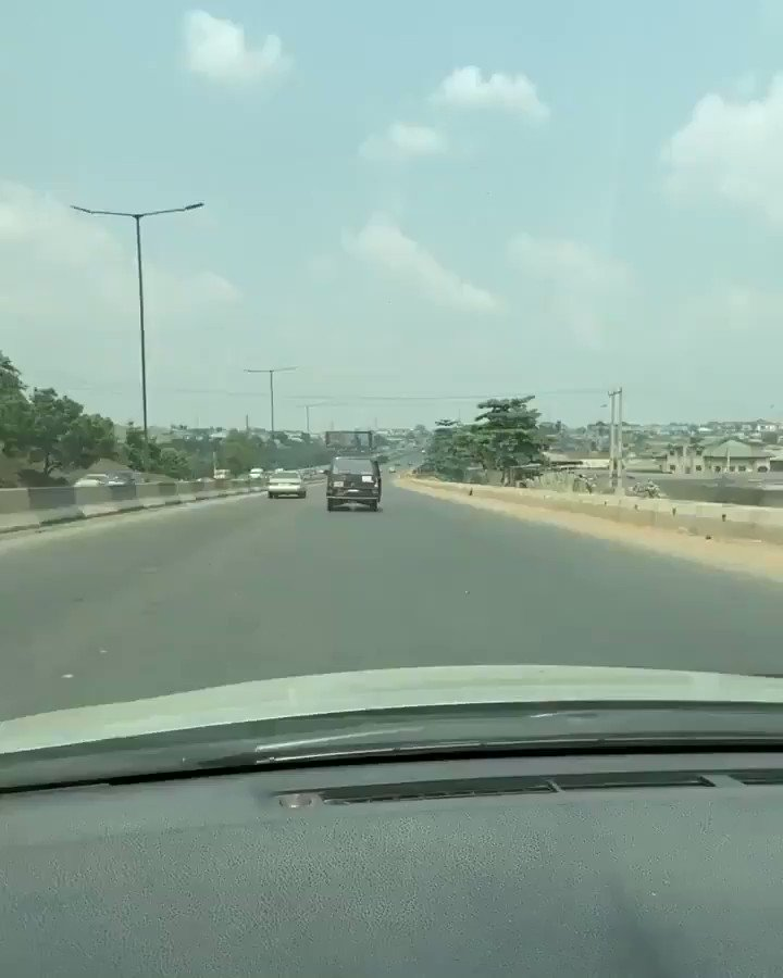 """""""@Abu_Muminah: I kept on following this commercial bus along Lagos/Ibadan expressway today until vision of a message unscripted in replace of number plate... FEAR WOMEN.... became clear...😆👌  Bet why  @Gidi_Traffic"""